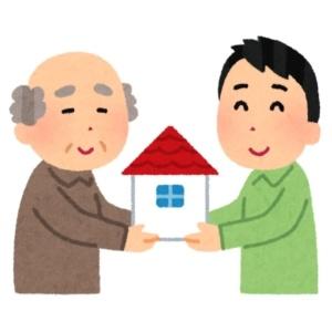 親の財産を遺産分割にて不動産(建物)を相続する子ども